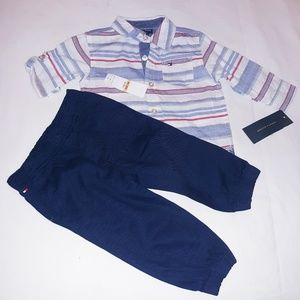 Tommy Hilfiger Boys Infant 2pc Casual Set
